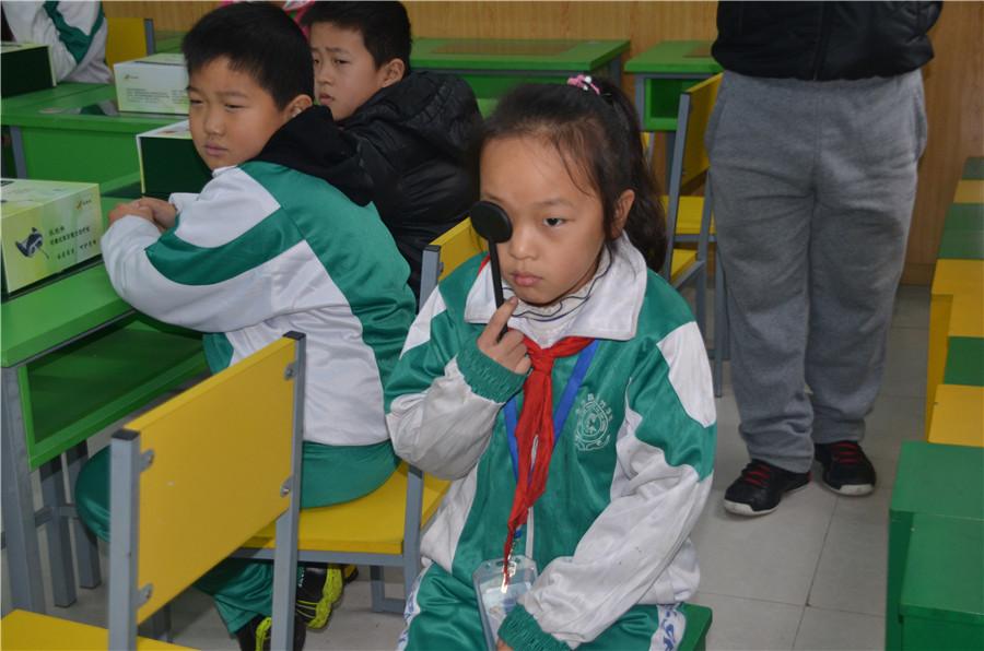 爱健康·关爱留守儿童 走进北京昌平雨竹学校